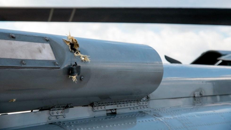 Autoridades colombianas investigan atentado contra Duque - Iván Duque Colombia helicóptero atentado