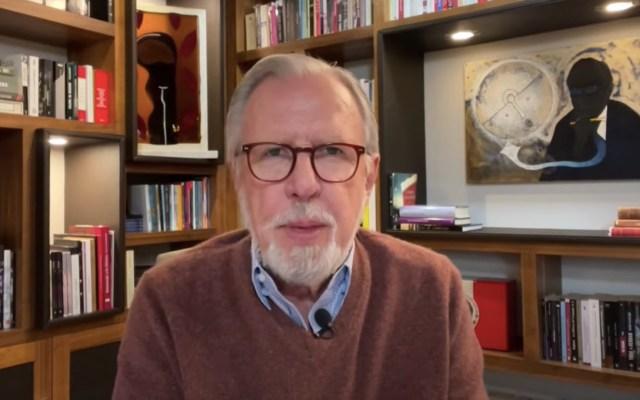 AMLO: populista y ortodoxo - Joaquín López-Dóriga. Foto tomada de video