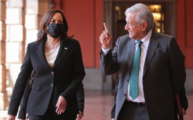 López Obrador conversará vía telefónica con Kamala Harris este lunes - Kamala Harris AMLO López Obrador