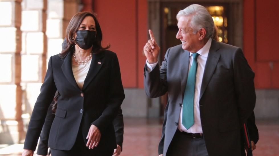 "López Obrador asegura que Kamala Harris ""es muy amiga de México"" - Kamala Harris AMLO López Obrador"
