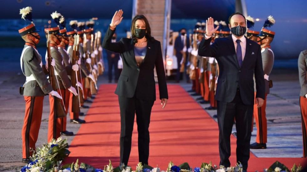 Kamala Harris llega a Guatemala para iniciar primera gira fuera de EE.UU. - Kamala Harris Guatemala llegada