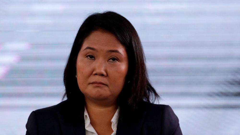 """Fujimori ve fraude y mano de la """"izquierda"""" global en elecciones - Keiko Fujimori"""