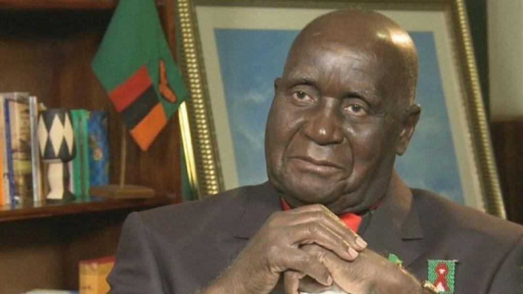 Hospitalizan al primer presidente de Zambia, Kenneth Kaunda - Kenneth Kaunda. Foto de @CyrilRamaphosa