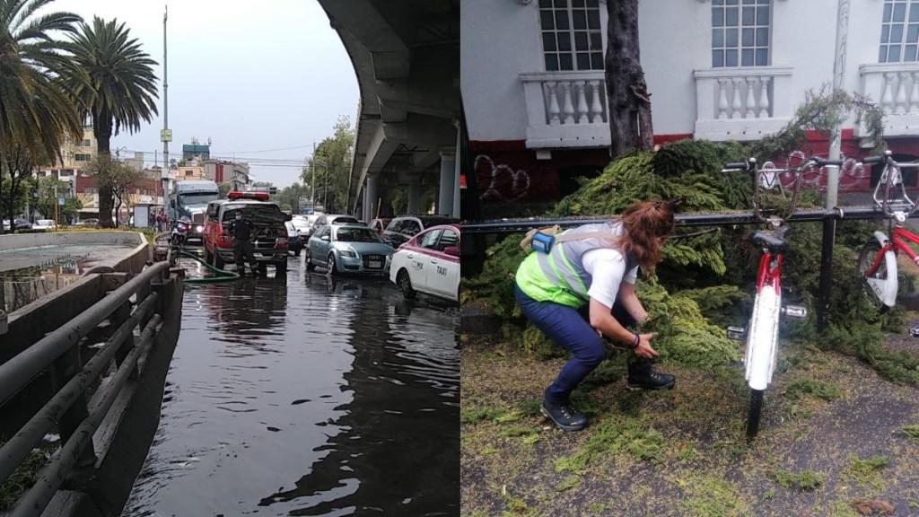 Lluvias desatan afectaciones en la Ciudad de México - Línea 12 Metro Ciudad de México 2