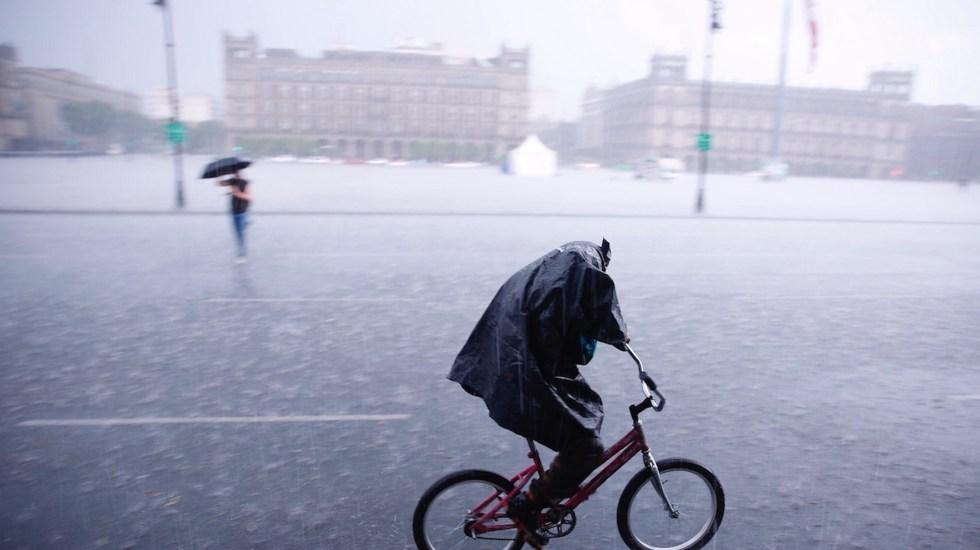 Activan Alerta Amarilla por lluvias en 12 alcaldías - México alerta por temporal de lluvias en gran parte del país. Foto de EFE
