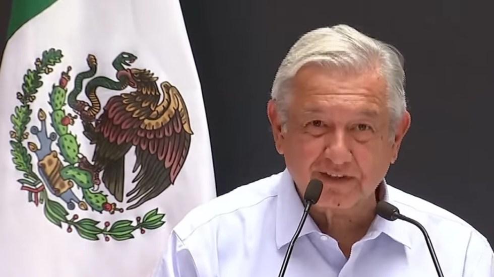 México no necesita sanciones del extranjero para cuidar el medioambiente: López Obrador - López Obrador en Baja California. Captura de pantalla