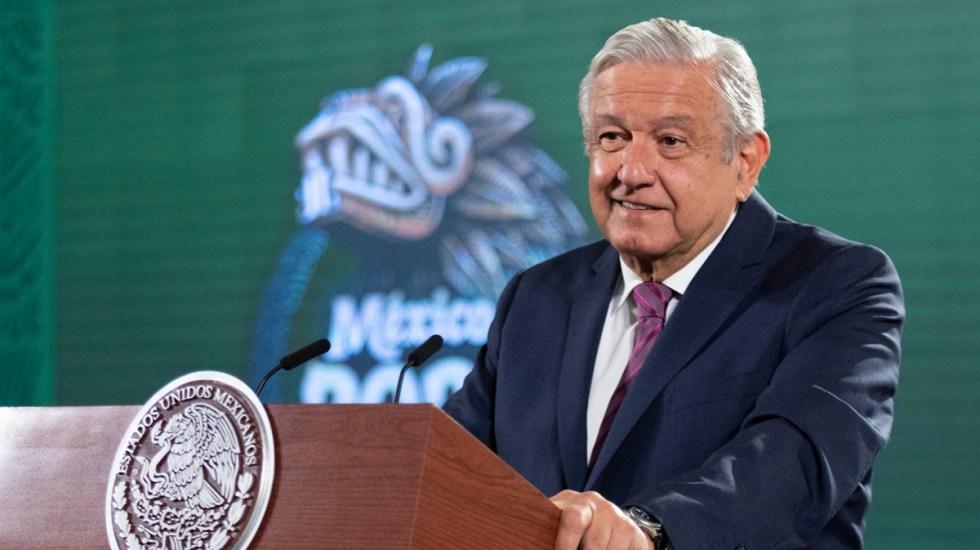 Pese a perder mayoría López Obrador no se deja 'intimidar': Financial Times - López Obrador en conferencia matutina. Foto de Gobierno de México
