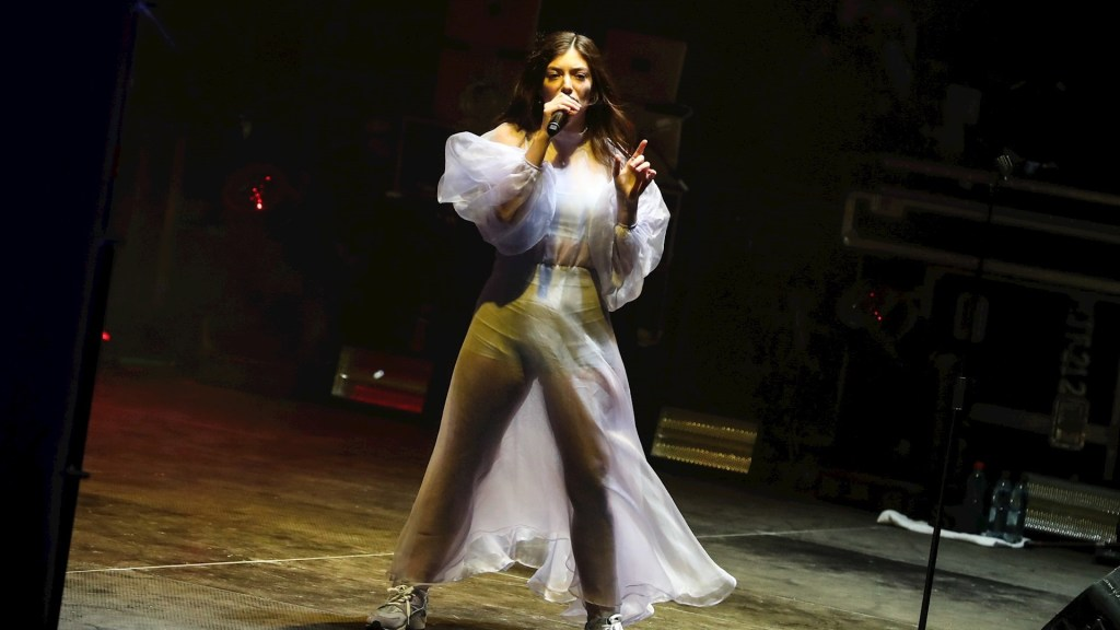 Lorde cantante