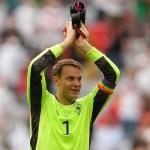 Manuel Neuer no será sancionado por llevar brazalete arcoíris a partidos - Manuel Neuer alemania partido futbol