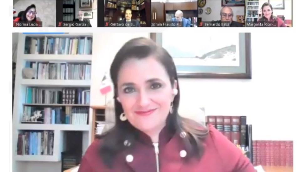 Orden jurídico debe orientarse a la plenitud y felicidad, asegura Margarita Ríos Farjat - Margarita Ríos Farjat ministra SCJN