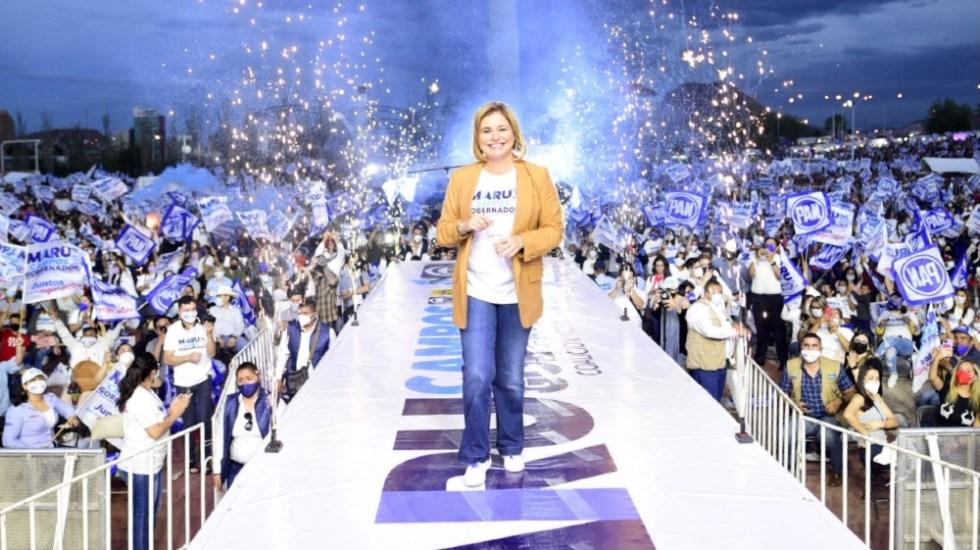 Guerra sucia me obligó a hacerme más fuerte en campaña: Maru Campos - Maru Campos Chihuahua