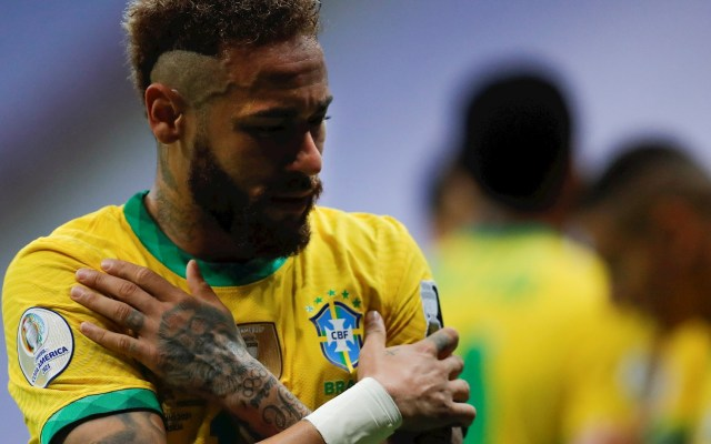Neymar dirige victoria de Brasil y queda a 10 goles de la marca de Pelé - Neymar Brasil Pelé partido Copa América Brasil