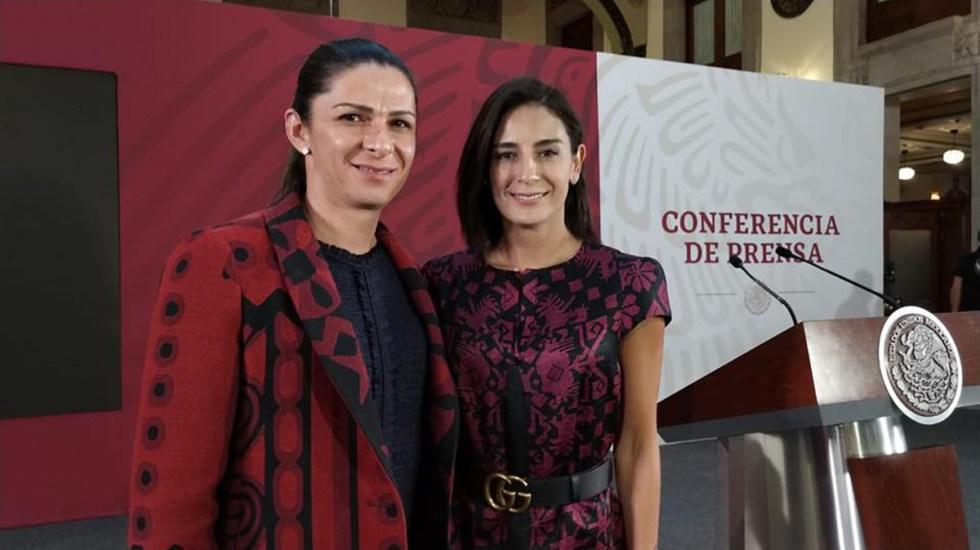 Paola Espinosa acusa 'castigo' de Ana Guevara en pérdida de plaza para ir a JJ.OO. de Tokio - Paola Espinosa con Ana Guevara. Foto de @PaolaEspinosaOficial