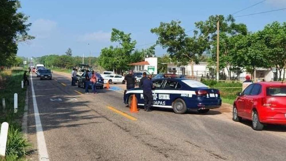 Muere policía en choque con traficantes de personas en Chiapas - Policia polleros Chiapas enfrentamientos