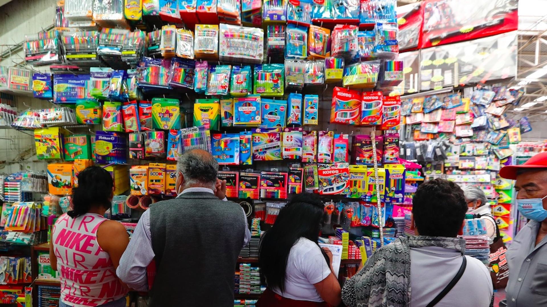 Regreso a clases en Ciudad de México. Foto de EFE