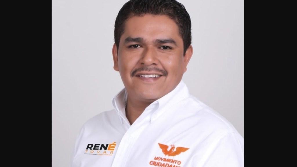 Jefe de campaña, sospechoso de asesinar a candidato en Veracruz: AMLO - candidato René Tovar, candidato de MC a la alcaldía de Cazones de Herrera, Veracruz. Foto de Facebook René Tovar Tovar