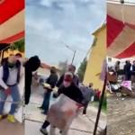 #Video Golpeadores de Morena destrozan casilla en Metepec