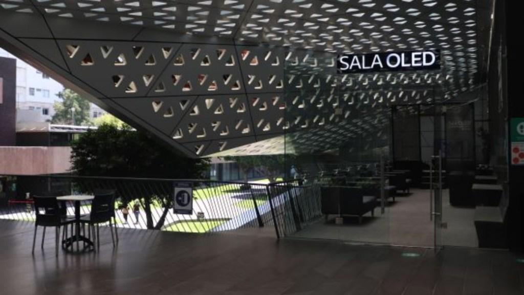 Cineteca Nacional, la primera con una sala de cine OLED en el mundo - Sala OLED LG en la Cineteca Nacional.