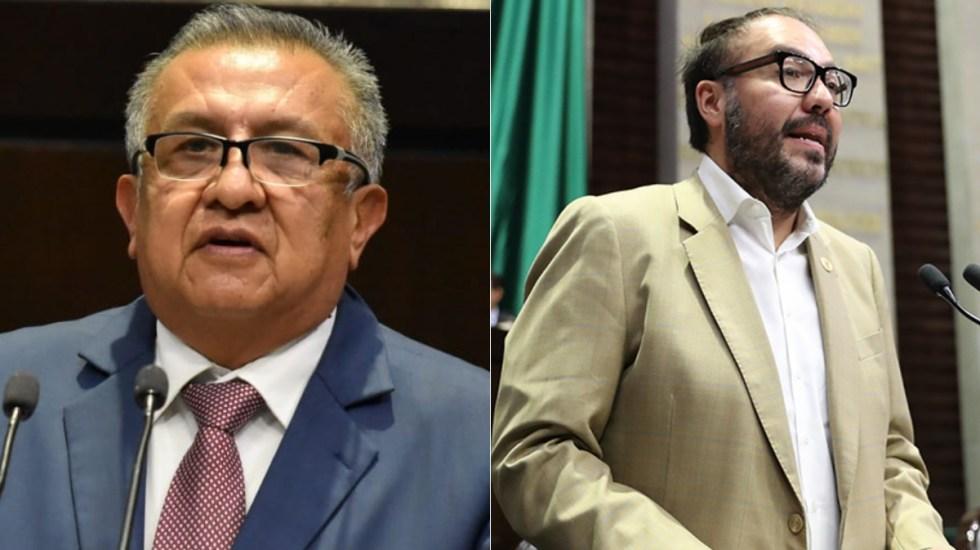 Dejan fuera de extraordinario el desafuero de Huerta y Toledo - desafueros Sección Instructora Saúl Huerta y Mauricio Toledo