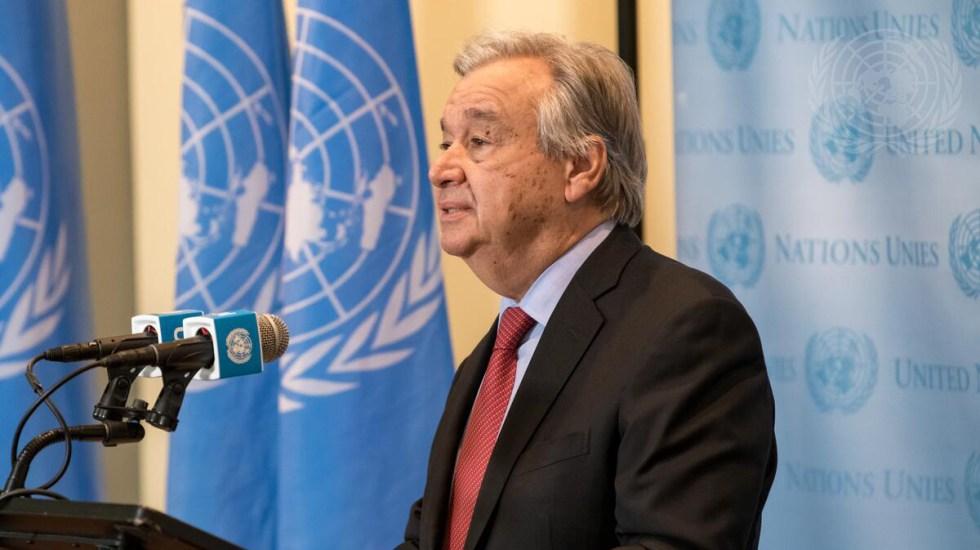 Guterres, liderazgo, discreción y habilidad política al servicio de la ONU - Secretario general de las Naciones Unidas, António Guterres. Foto de ONU
