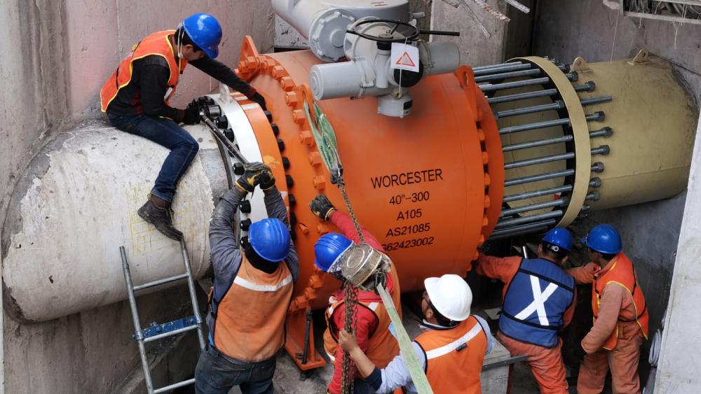 Conagua concluye trabajos de mantenimiento en el Sistema Cutzamala - Sistema Cutzamala mantenimiento Conagua