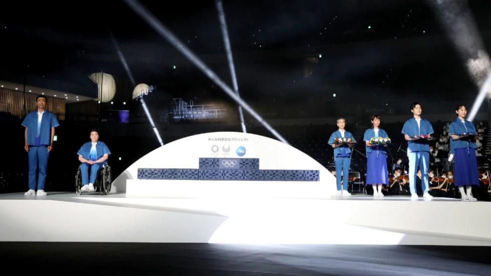 Muestran el podio y la música para ceremonias de los Juegos de Tokio - Tokio 2020 podio música