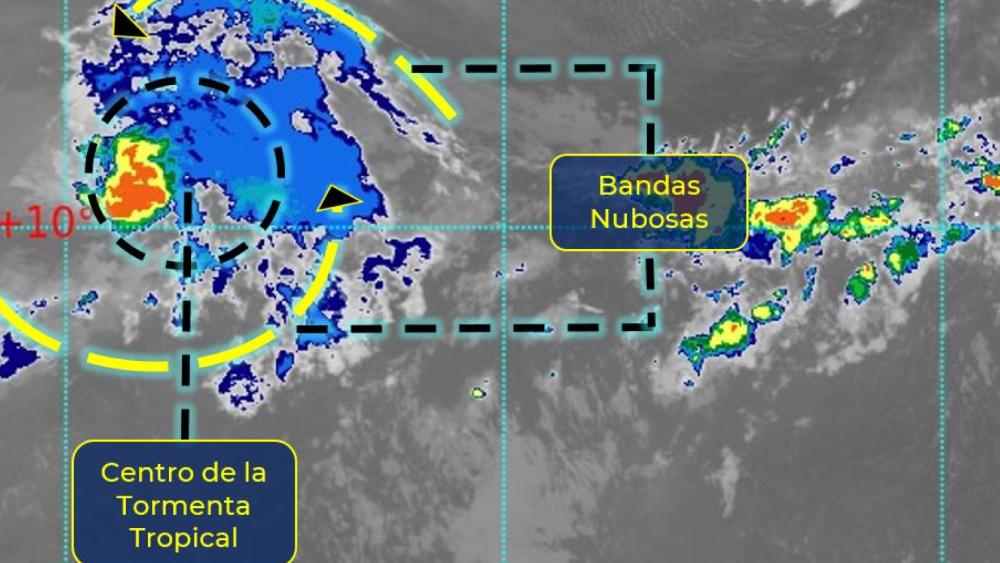 Se forma la segunda depresión tropical del año en la cuenca atlántica