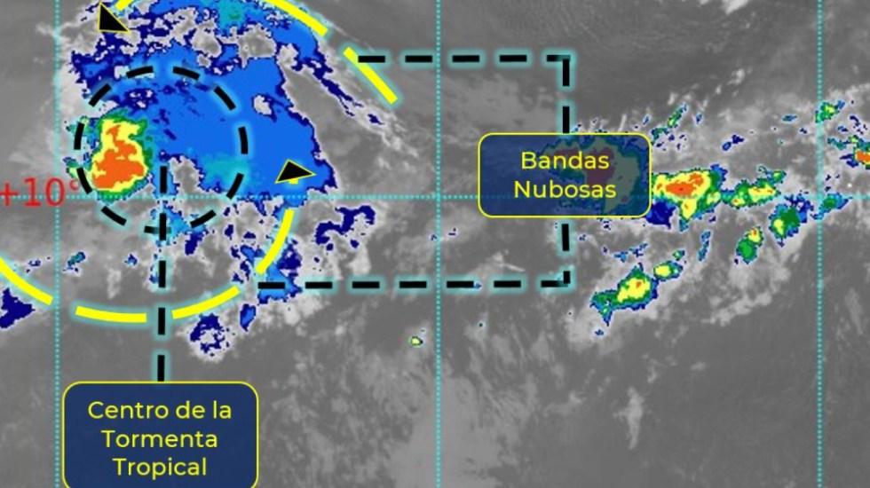 Tormenta tropical Carlos avanza por el Pacífico, lejos de costas mexicanas - tormenta Carlos SMN