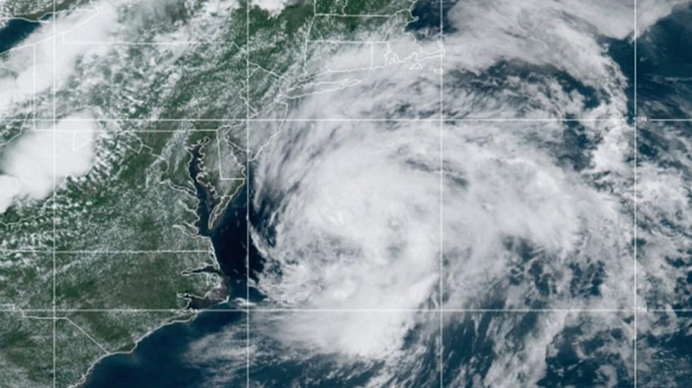 Tormenta tropical Claudette se aleja de Estados Unidos - Tormenta tropical Claudette. Foto de NOAA