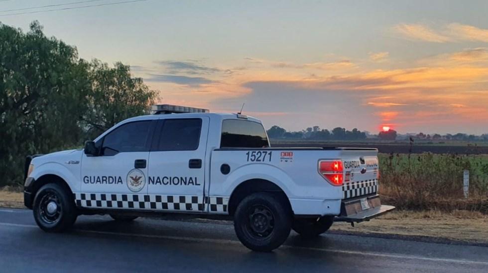 SSPC refuerza seguridad en Reynosa tras masacre de civiles - vehículo de la Guardia Nacional