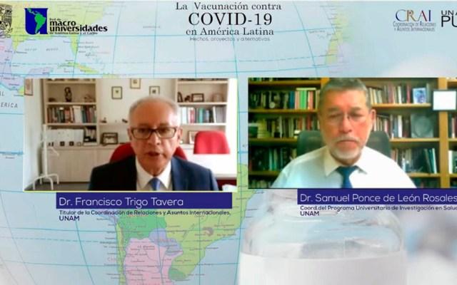 En términos de pandemias, no existen fronteras: UNAM - Vacunación contra COVID-19 en América Latina