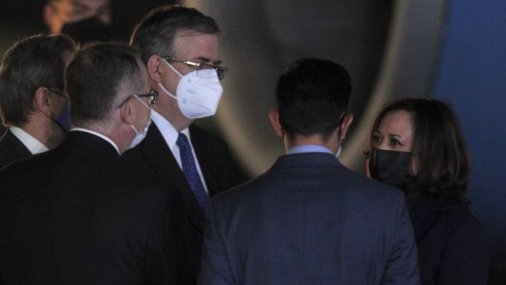 Llega Kamala Harris a México; este martes se reúne con AMLO - Vicepresidenta Kamala Harris México