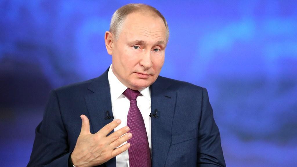 """Putin hará recomendaciones sobre su posible sucesor """"cuando llegue el momento"""" - Vladimir Putin, presidente de Rusia. Foto de EFE"""