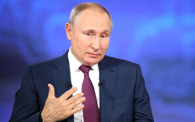 """Putin asegura tener """"relaciones de trabajo estables"""" con Biden - Vladimir Putin, presidente de Rusia"""