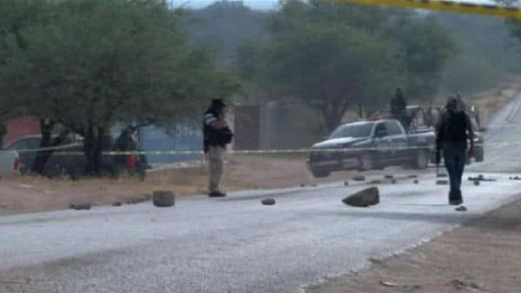 #Fotos Enfrentamiento en Valparaíso, Zacatecas, deja 18 muertos - Enfrentamiento en Valparaíso, Zacatecas, deja 18 muertos. Foto Especial