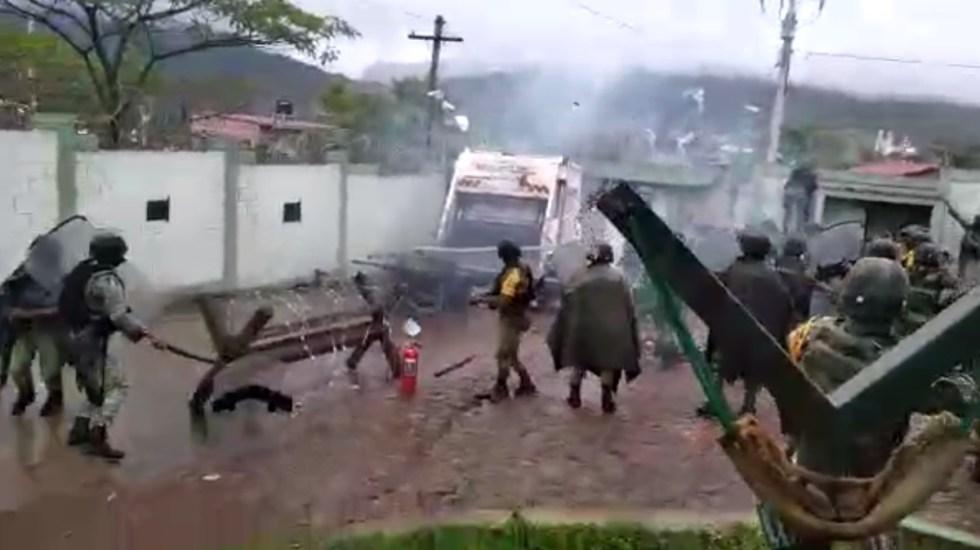 Continúan agresiones en Aguililla contra militares; pobladores exigen operativos contra cárteles - Aguililla militares Michoacán