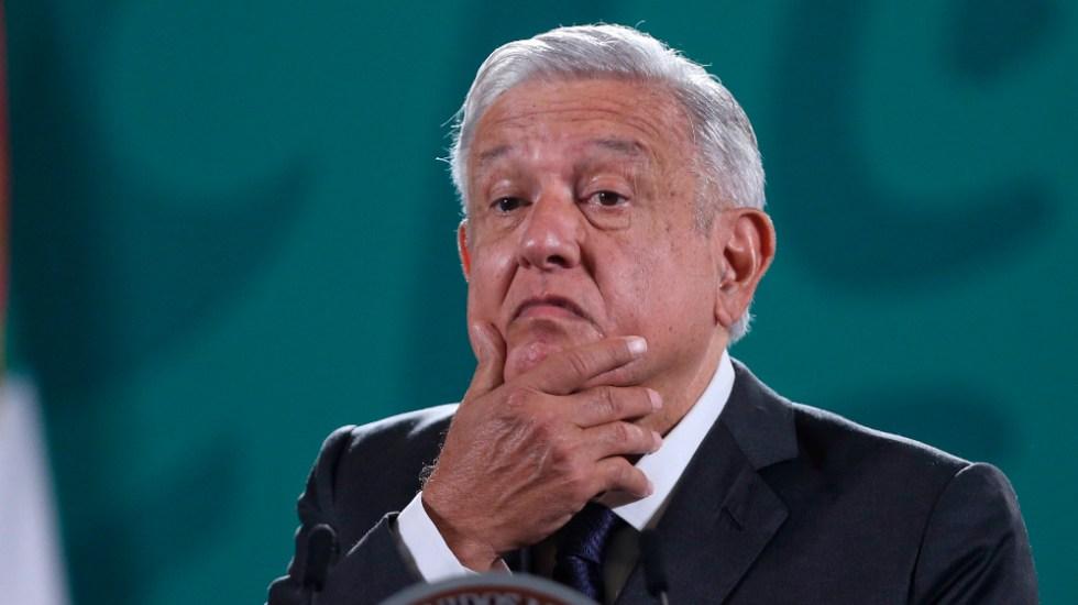 López Obrador dice que tendría un 8 de calificación si financiara a medios - AMLO López Obrador confe
