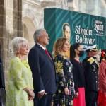 Discurso de AMLO en el 238 Aniversario del Natalicio de Simón Bolívar