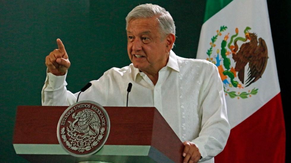 """López Obrador afirma que """"ya no hay tapados"""" para relevarlo en 2024 - AMLO Lopez Obrador Tabasco"""
