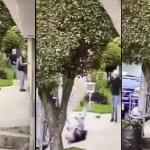 #Video Asaltan a adulto mayor afuera de su casa en Naucalpan