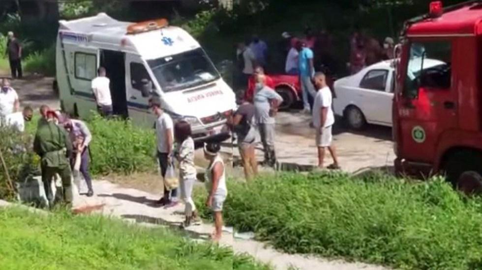 Hombre asesina a cuatro vecinos en La Habana y luego se suicida - Asesinato de cuatro personas en La Habana, Cuba. Captura de pantalla