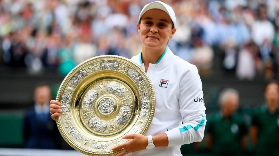 Barty vence a Pliskova y levanta su primer Wimbledon - Ashleigh Barty