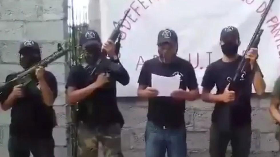 Surge nuevo grupo de autodefensa en Pantelhó, Chiapas - autodefensa Pantelhó Chiapas