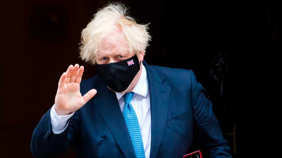 Boris Johnson se aísla tras estar en contacto con caso positivo de COVID-19 - Boris Johnson. Foto de EFE