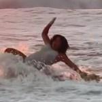 """#Video """"Disfruten"""": Lucero Mijares comparte caída en el mar"""