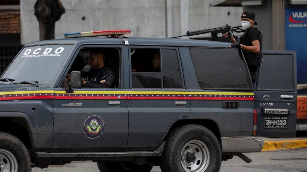 Caracas Venezuela enfrentamientos delincuentes