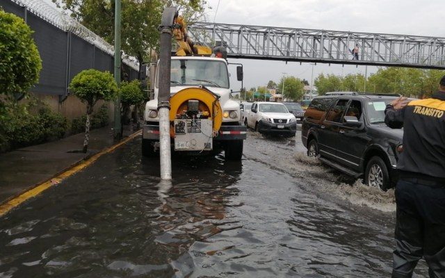 Fuertes lluvias provocan afectaciones en la Ciudad de México; alerta en todas las alcaldías - Circuito Interior inundaciones CIudad de México lluvias
