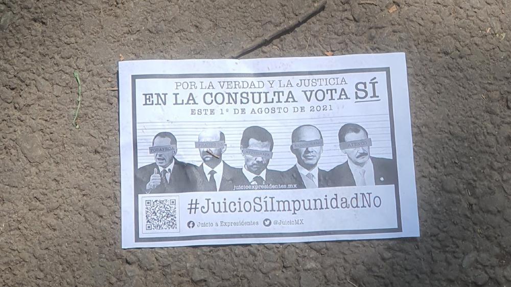 CNDH respalda la consulta popular contra expresidentes - consulta popular expresidentes volante