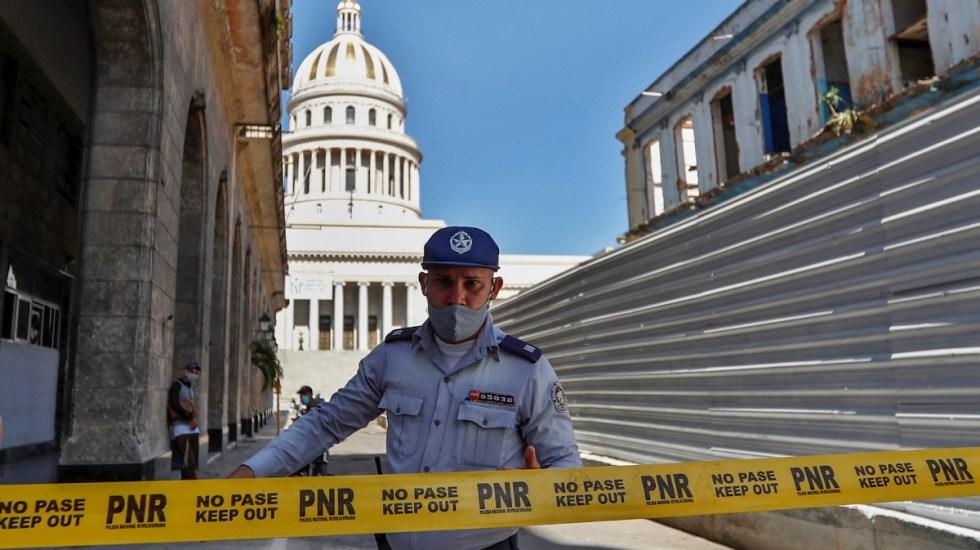 Murió un hombre durante protestas en La Habana, Cuba - Cuba protestas capitolio cerrado