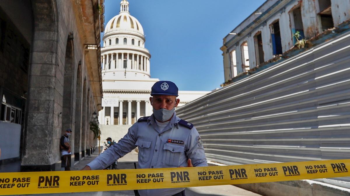 Cuba protestas capitolio cerrado